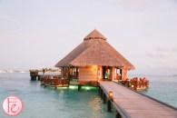 conrad maldives sunset grill