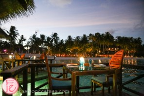 conrad maldives sunset grill
