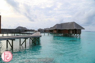 Conrad Maldives water villas