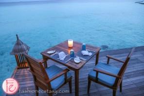 Mandhoo Spa Restaurant conrad maldives