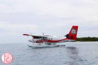 Trans Maldivian seaplane