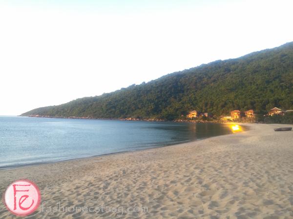 InterContinental DANANG's private beach