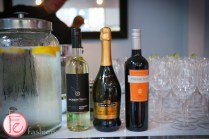 wine served at events