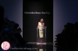 Carolyn Quinn mercedes benz start up semi final show