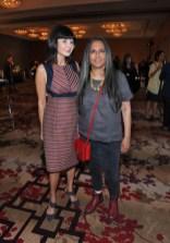 Bernadette Morra and Deepa Mehta