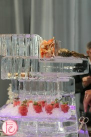 seafood ice tower dine magazine 10th issue launch