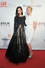 Gia Sandhu and Sarah Allen
