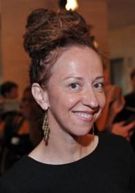 Ingrid Veninger wearing Birks Muse Ribbon