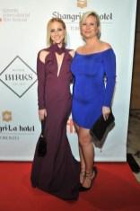 Karine Vanasse (2015 Birks Diamond Tribute to Women in Film) and Eva Hartling