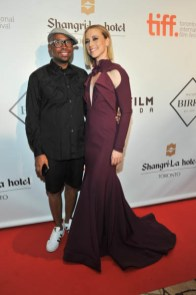 Kirk Pickersgill and Karine Vanasse (wearing Greta Constantine)