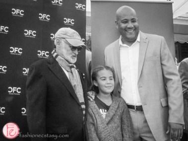 Norman Jewison and Michael Coteau
