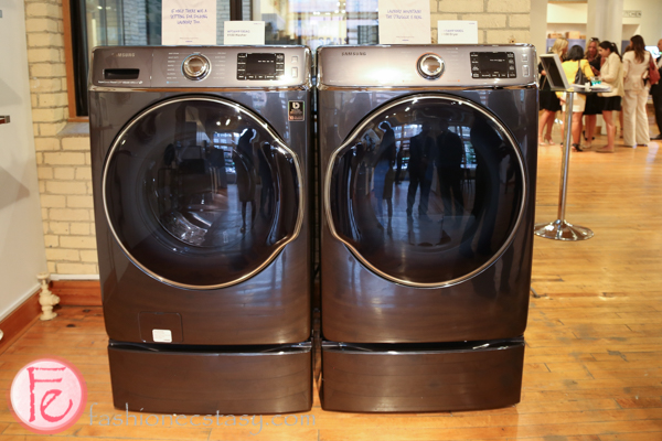 Samsung 9100 Washer and Dryer home innovation showroom toronto