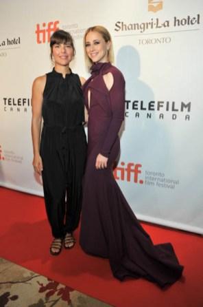 Sophie Deraspe and Karine Vanasse
