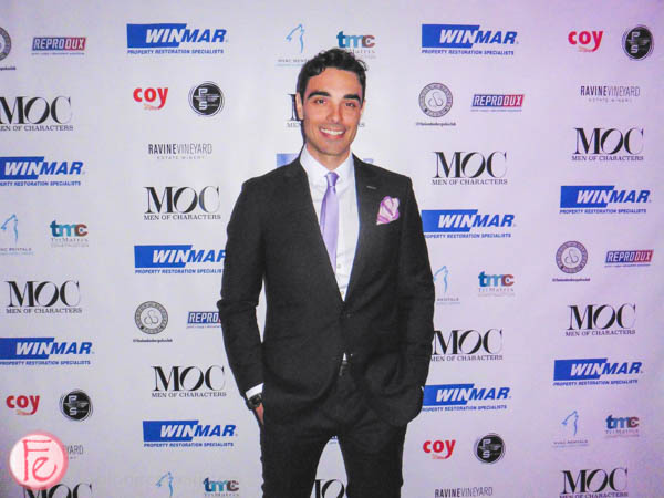 Steve Morana men of characters tiff industry party