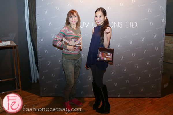 sari colt and tanya hsu at 1uv handbags launch