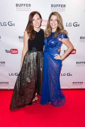 Becky Wright and Kelsey MacDermaid-The Sorry Girls at bufferfest 2015