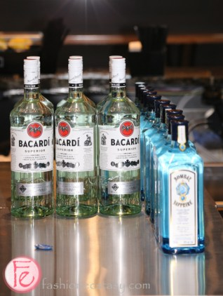 bacardi and bombay sapphire