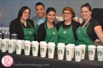 starbucks staff at eat to the beat 2015