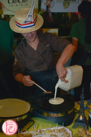 making crepe at eat to the beat 2015