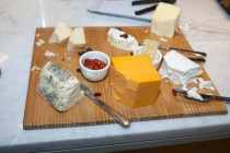 cheeses at fgi event the great retail debate