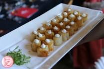 mushroom pastry at the spoke club
