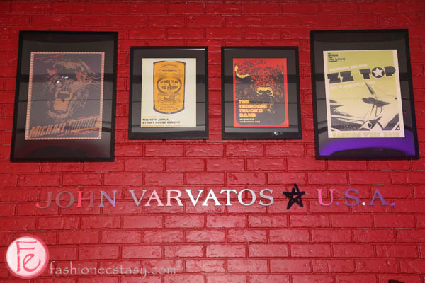 john varvatos x harry rosen launch party