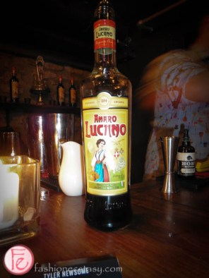 amaro lucano bottle