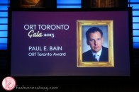 ORT Toronto honouree Paul E. Bain