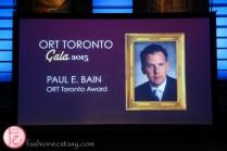 ORT Toronto honouree Paul E. Bain