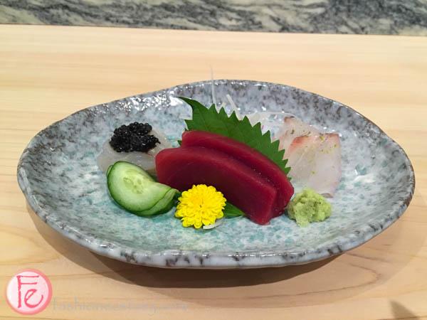 sashimi plate shoushin sushi bar