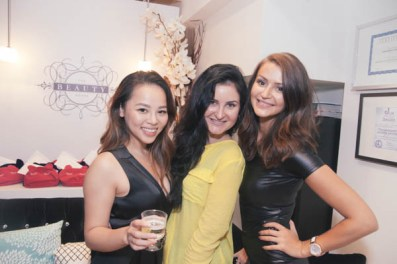 the beauty house grand opening party at tiff
