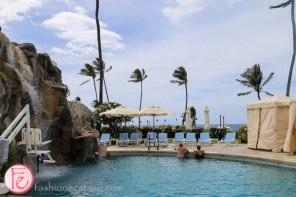 four seasons resort maui waterfall pool