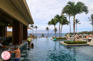 "四季渡假大飯店成人「無邊際泳池」(Serenity Pool) (Four Seasons Maui ""serenity infinity pool"")"