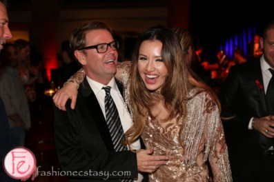 Glenn Dixon, Brittney Kuczynski canfar bloor street entertains 2015 after party rom