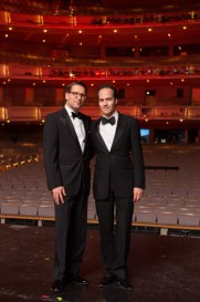 Canadian Opera Company General Director Alexander Neef and Music Director Johannes Debus