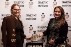 Teya Zuzek at Disaronno x Roberto Cavalli Limited Edition Bottle disaronno wears cavalli launch