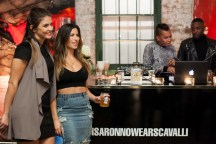 disaronno wears cavalli launch