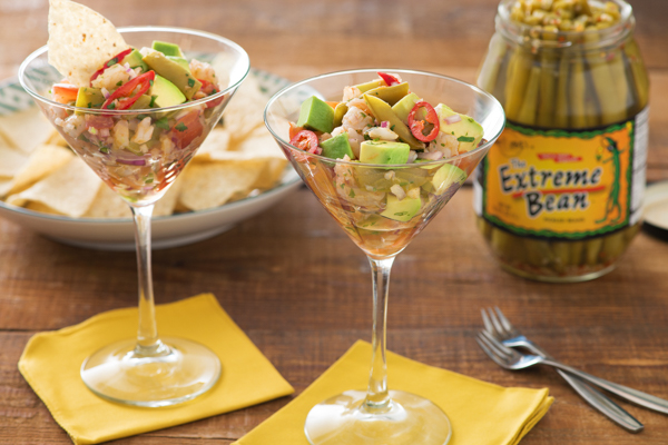 Extreme Bean Southwest Shrimp Cocktail recipe