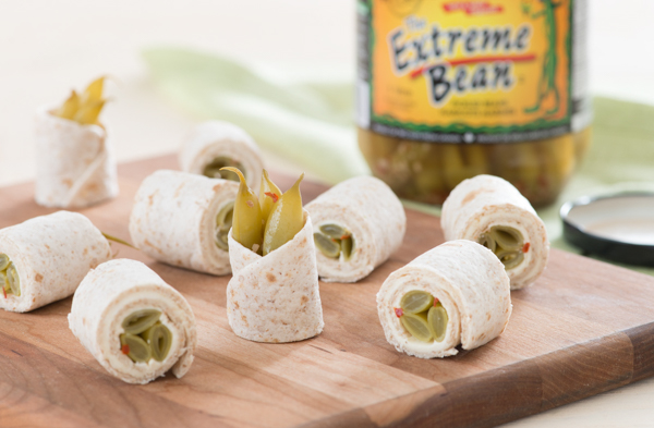 Extreme Bean Tortillas Rolls recipe