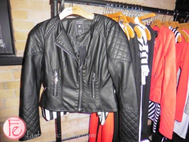 guess spring/summer 2016 collection biker jacket