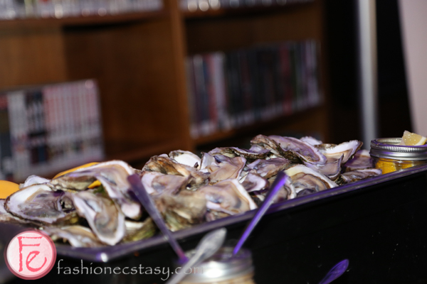 oyster station at hush hush party 2015