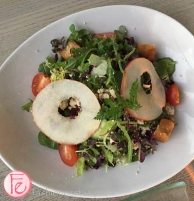 miku restaurant nutrigreens farm tofu salad
