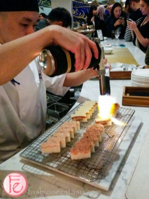 miku restaurant toronto aburi oshi sushi