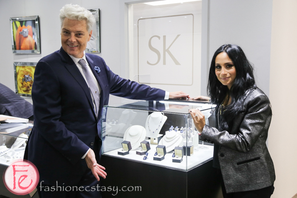joseph spencer of say yes to the dress and samuel kleinberg jewellers designer melissa spivak