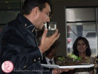 Sanjeev Kapoor grills a salmon specialty