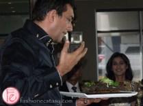 Sanjeev Kapoor grills a salmon specialty