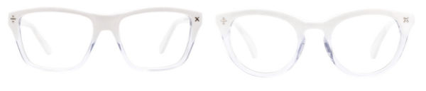 clearly eyewear icy frames