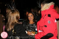 natalie deane harry rosen canada goose launch party on the rooftop