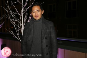 mr lance chung harry rosen canada goose launch party on the rooftop
