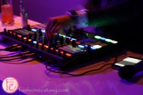 glow-in-the-dark dj mixer